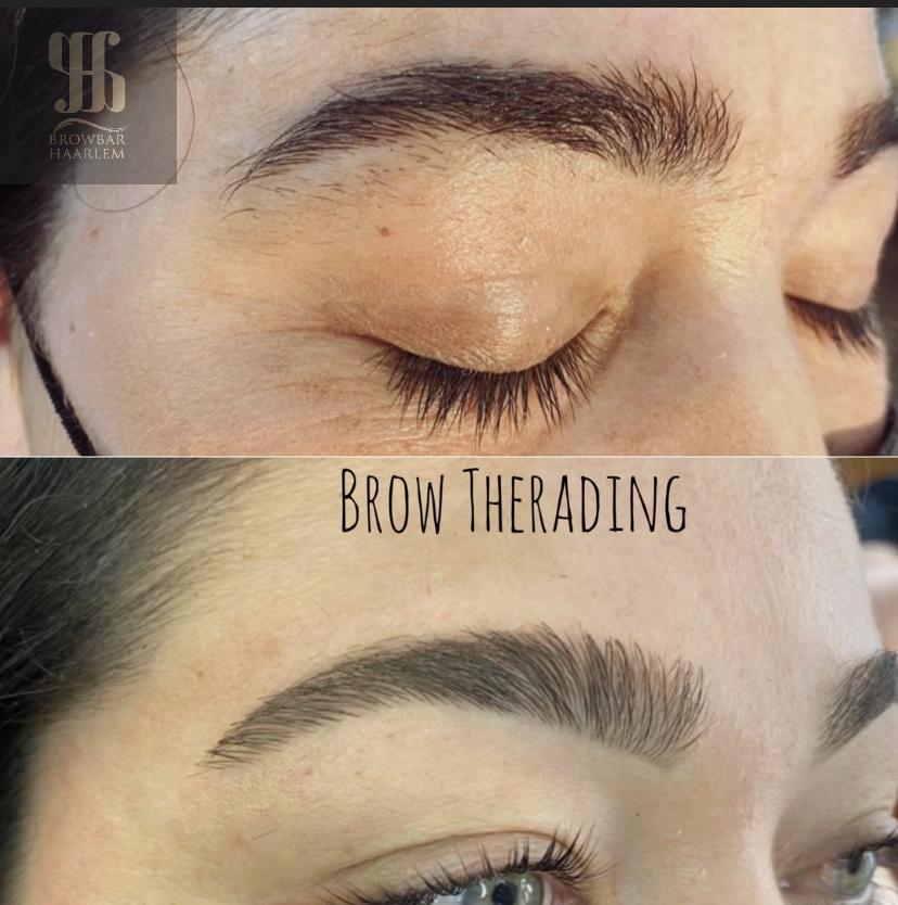 brow-therading BROWBAR HAARLEM
